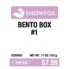 Bento Box #1 $7.99