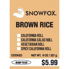 Brown Rice $5.99