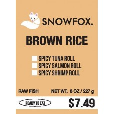 Brown Rice $7.49