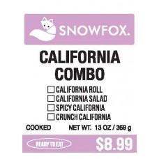 California Combo $8.99