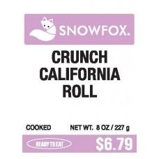 Crunch California Roll $6.79