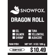 Dragon Roll $10.49