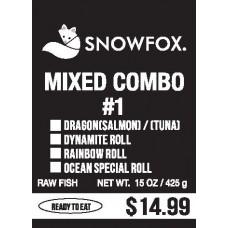 Mixed Combo #1 $14.99