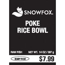 Poke Rice Bowl $7.99