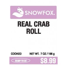 Real Crab Roll $8.99