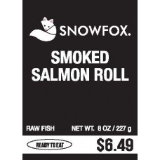 Smoked Salmon Roll $6.49