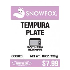 Tempura Plate $7.99