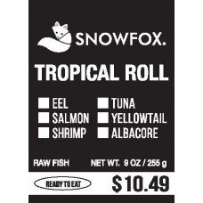Tropical Roll $10.49