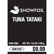 Tuna Tataki $9.99