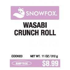 Wasabi Crunch Roll $8.99
