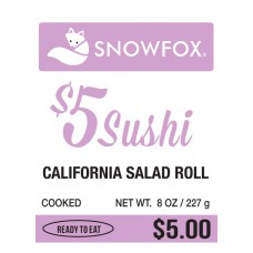 $5 California Salad Roll $5.00