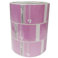 Labeling Machine Rolls - Snowfox 18 Rolls