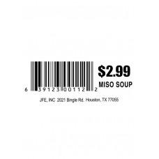 Miso Soup $2.98