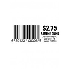 Ramune Drink $2.75