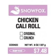 Chicken Cali Roll $7.48