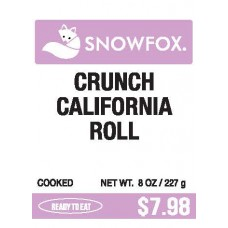 Crunch California Roll $7.98