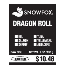 Dragon Roll $10.48
