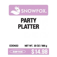 Party Platter $14.98