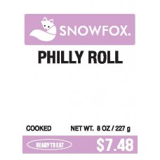 Philly Roll $7.48
