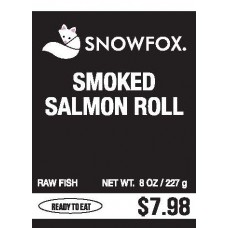 Smoked Salmon Roll $7.98