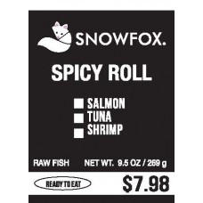 Spicy Roll $7.98