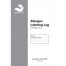 ALLERGEN LABELING LOG(MICHIGAN ONLY)