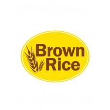 Brown Rice - Oval Sticker