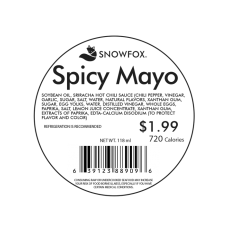 Spicy Mayo 1.99