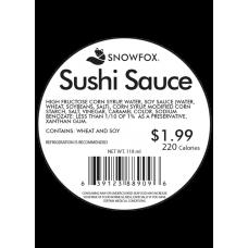 Sushi Sauce 1.99