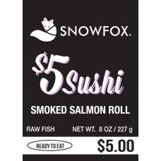 $5 Smoked Salmon Roll $5.00