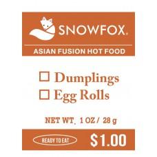 Dumplings/Egg Rolls $1.00