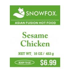 Sesame Chicken $.6.99
