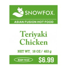 Teriyaki Chicken $6.99