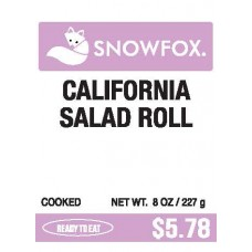 California Salad Roll $5.78