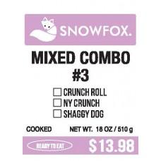 Mixed Combo #3 $13.98