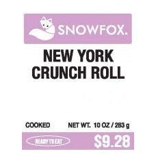 New York Crunch Roll $9.28