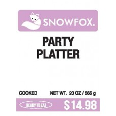 Party Platter $14.98