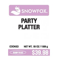 Party Platter $39.98