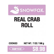 Real Crab Roll $8.98