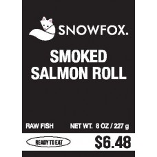 Smoked Salmon Roll $6.48
