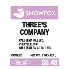 Three's Company Roll $6.48