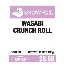 Wasabi Crunch Roll $8.98